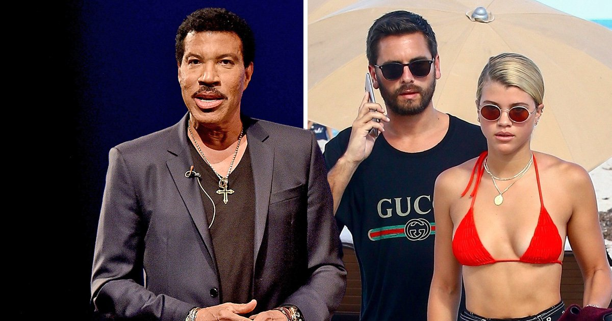 Lionel Richie admits he's 'scared to death' of daughter Sofia dating Scott Disick