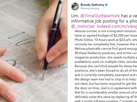 No one wants this job after brutally honest description was published