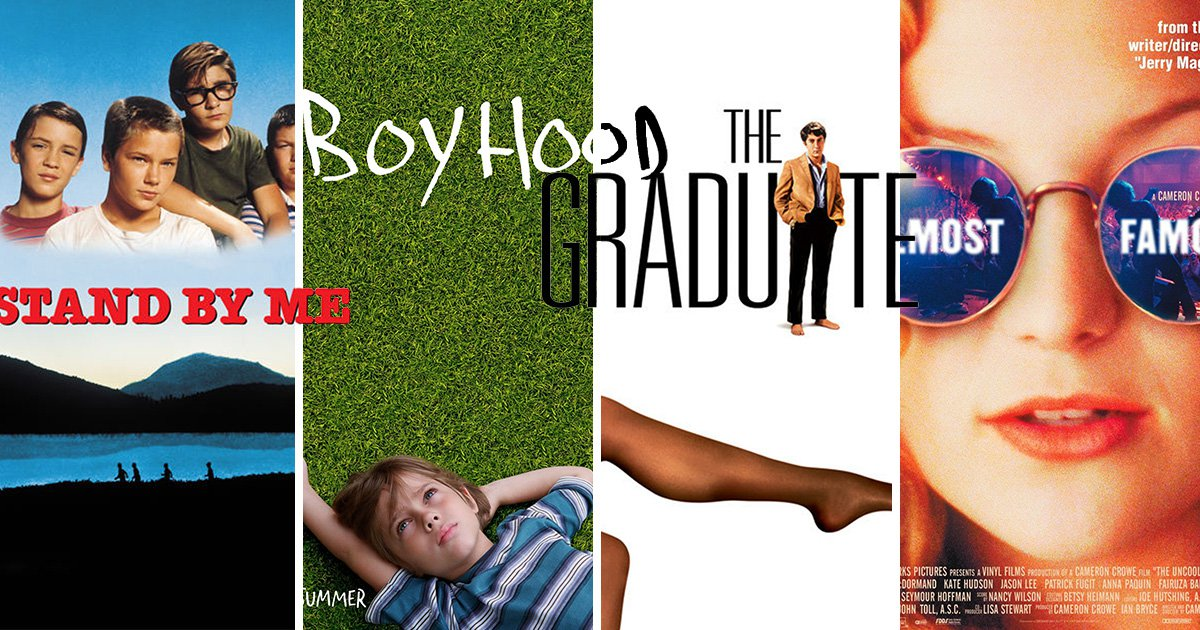 From The Graduate to Boyhood: The 8 greatest coming-of-age movies of all time