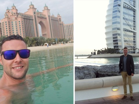 British man facing Dubai jail 'for putting hand on man's hip' appears in court