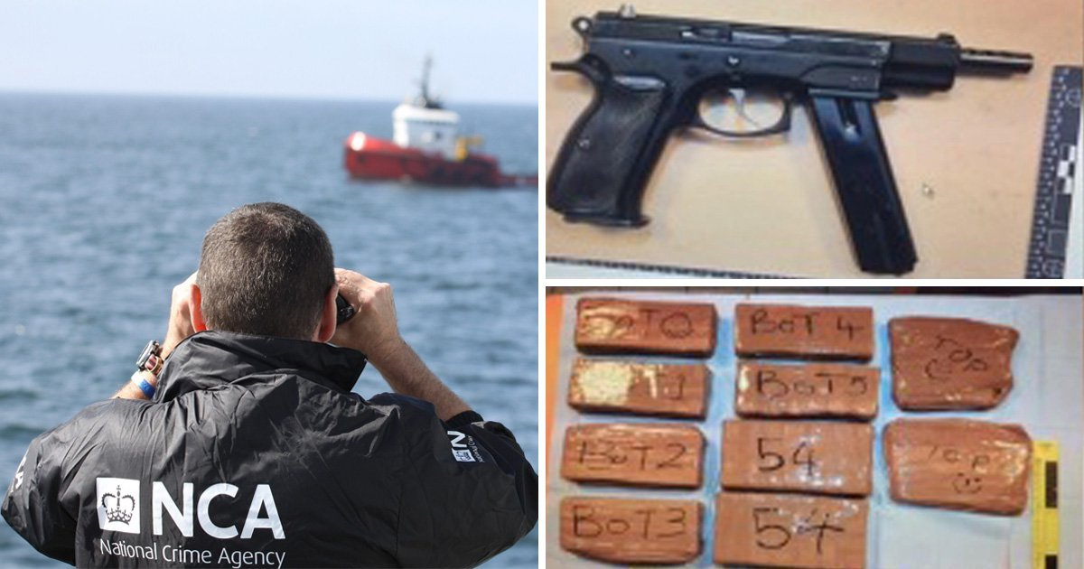 UK Border Force agent arrested after 'trying to smuggle guns and drugs into Britain'