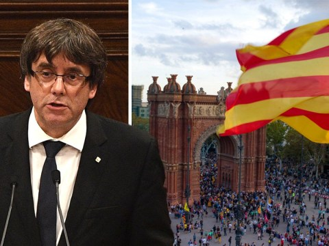 Catalonia's president delays declaration of independence 'for a few weeks'