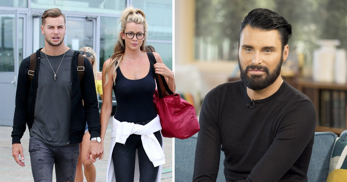 Rylan Clark-Neal denies bust up with Chris Hughes over Katie Price 'lap dog' jibes