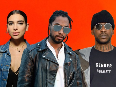 Miguel is a massive fan of Skepta after Dua Lipa took him to LA show and now we hope a collab will happen
