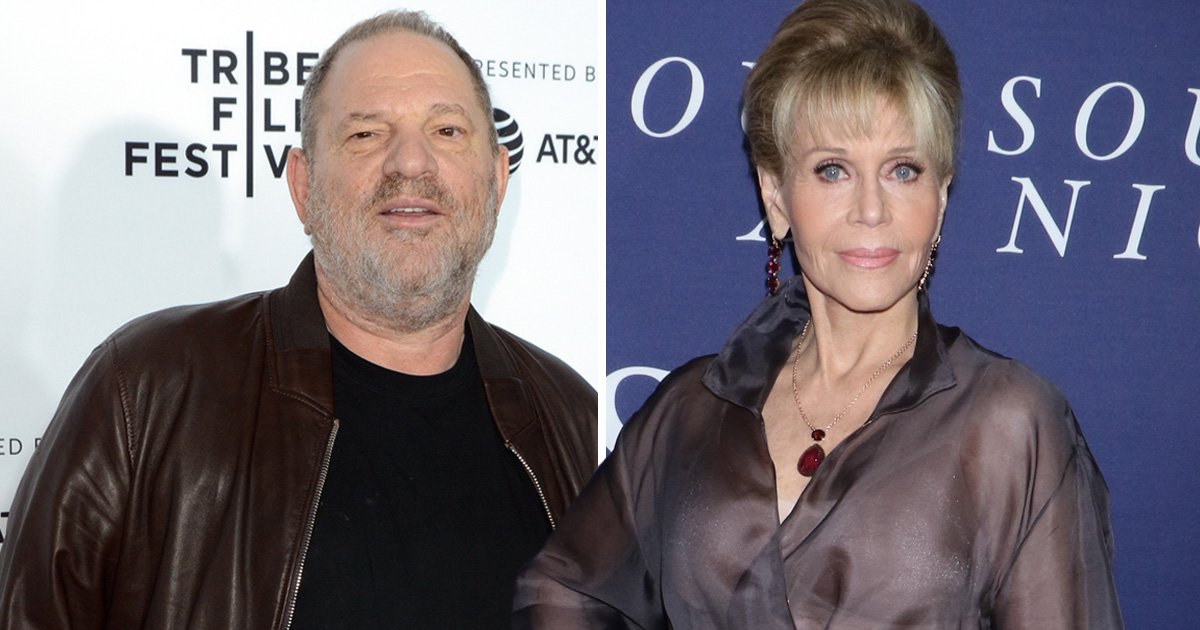 Jane Fonda found out about the Harvey Weinstein allegations a year ago