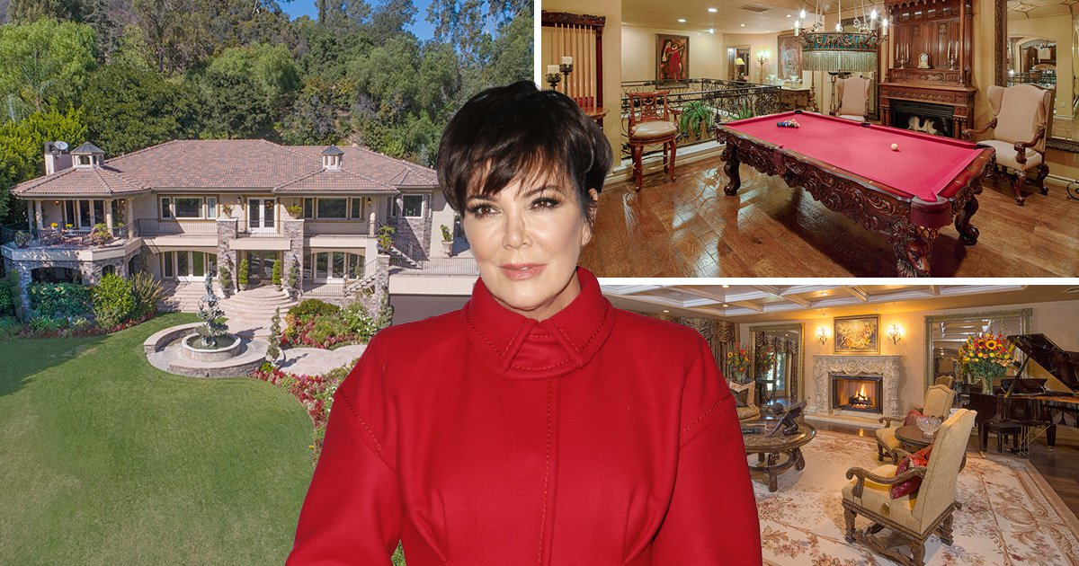 If it has been your dream to live in Kris Jenner's $7 million fake house, here's your chance