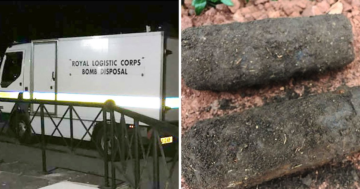 Man drove to social club with WW2 bombs in his boot