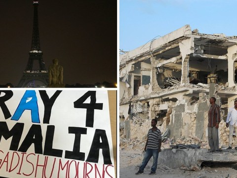 People are wondering where the 'Pray for Mogadishu' hashtags are