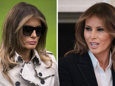 Conspiracy theorists think Melania Trump has a body double