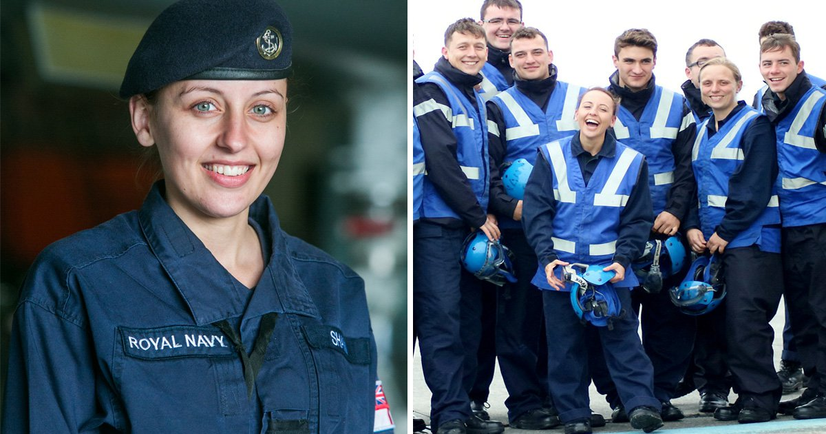 Britain's shortest servicewoman just bagged Royal Navy's most dangerous job