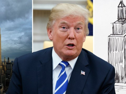 Someone actually paid $16,000 for this 'sketch' by President Trump