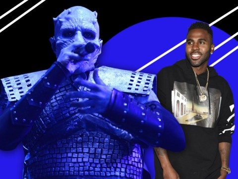 Jason Derulo's epic Game of Thrones Night King Halloween costume is everything