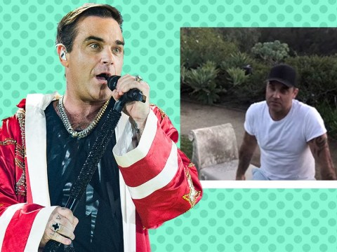 Robbie Williams reveals 'very worrying' test results left him in intensive care and forced him to cancel tour