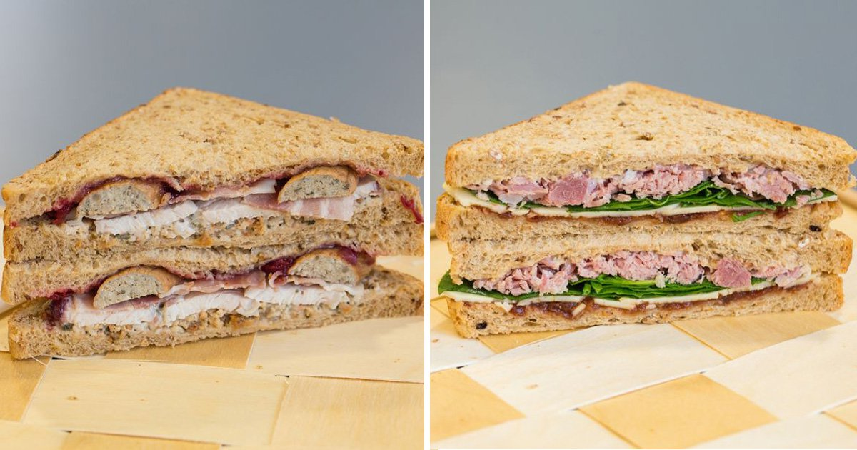 Aldi is doing the cheapest Christmas sandwiches around