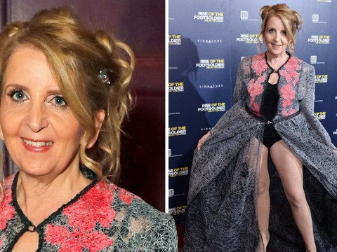 Gillian McKeith's latest look is far more glam than inspecting poo