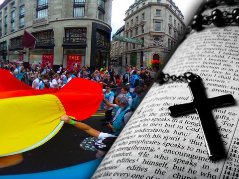 What the Bible says about homosexuality after devout Christian is kicked off course