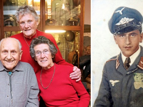 'Kind' Nazi who smuggled food to family is reunited with them 74 years later