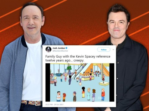 Seth MacFarlane addresses Kevin Spacey joke on Family Guy: 'I don't know who pitched it'