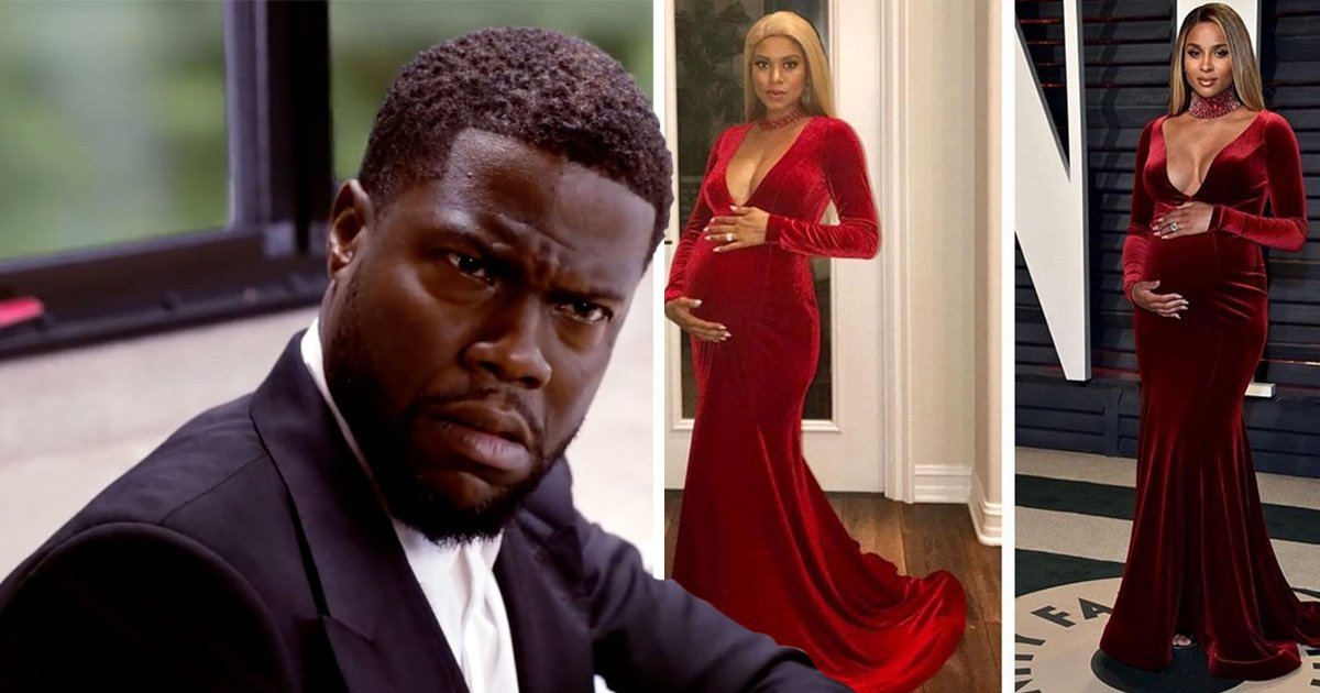 Kevin Hart has all the love for his wife dressed as 'Pregnant Ciara' after 'cheating' joke fell flat