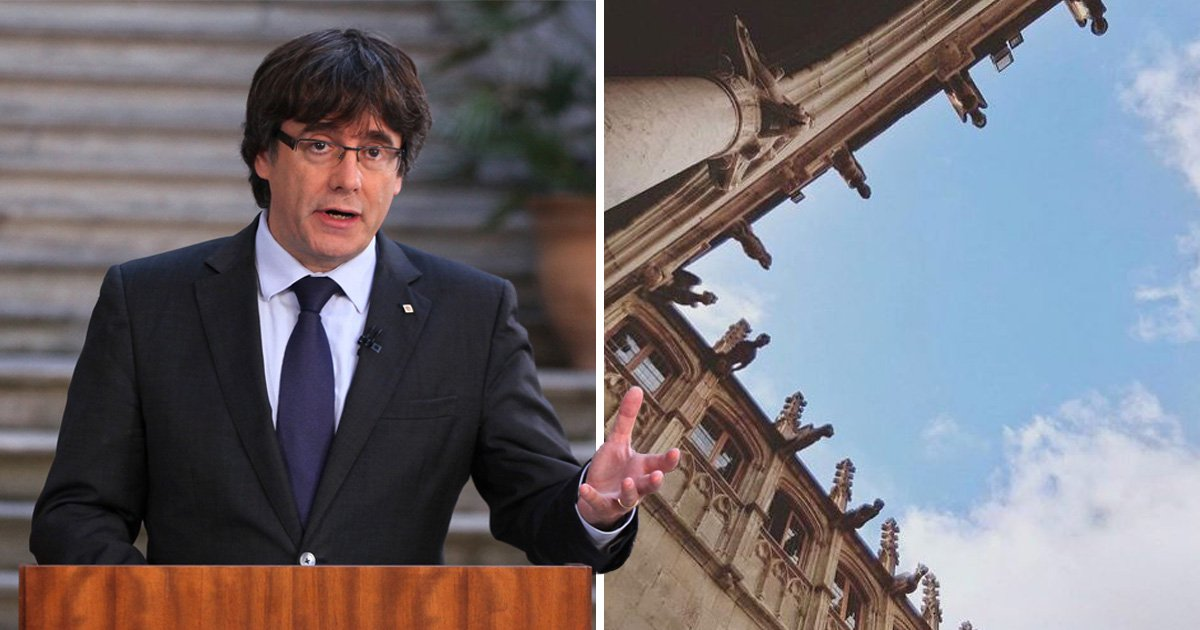 Catalan president trolls the Spanish Government amid 'rebellion' charges