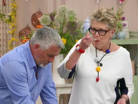 Prue Leith hasn't yet been asked back for the next series of Great British Bake Off