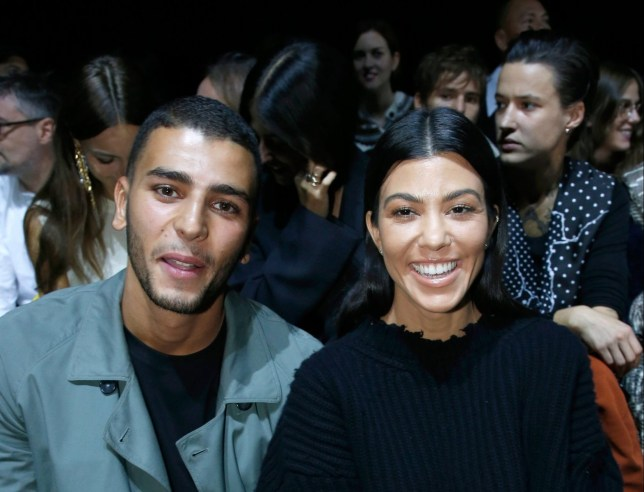 Kourtney Kardashian is not dating her ex Younes Bendjima despite that hand holding PDA