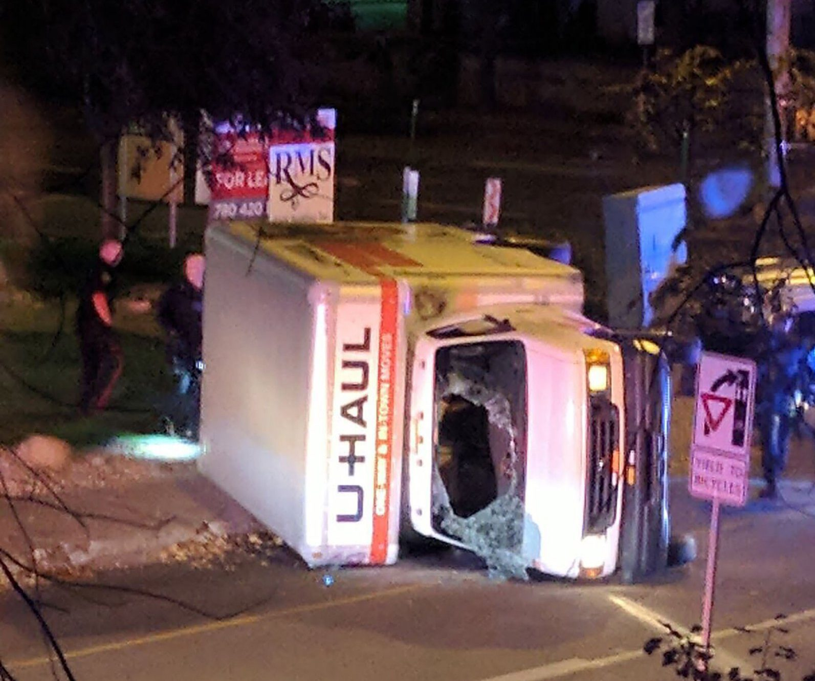 Police officer stabbed and four mowed down by van in 'terror attack' in Canada