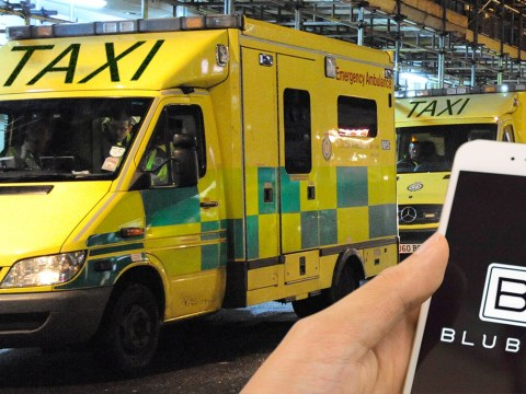 Drunks using ambulances as free taxis call it 'getting a Bluber'