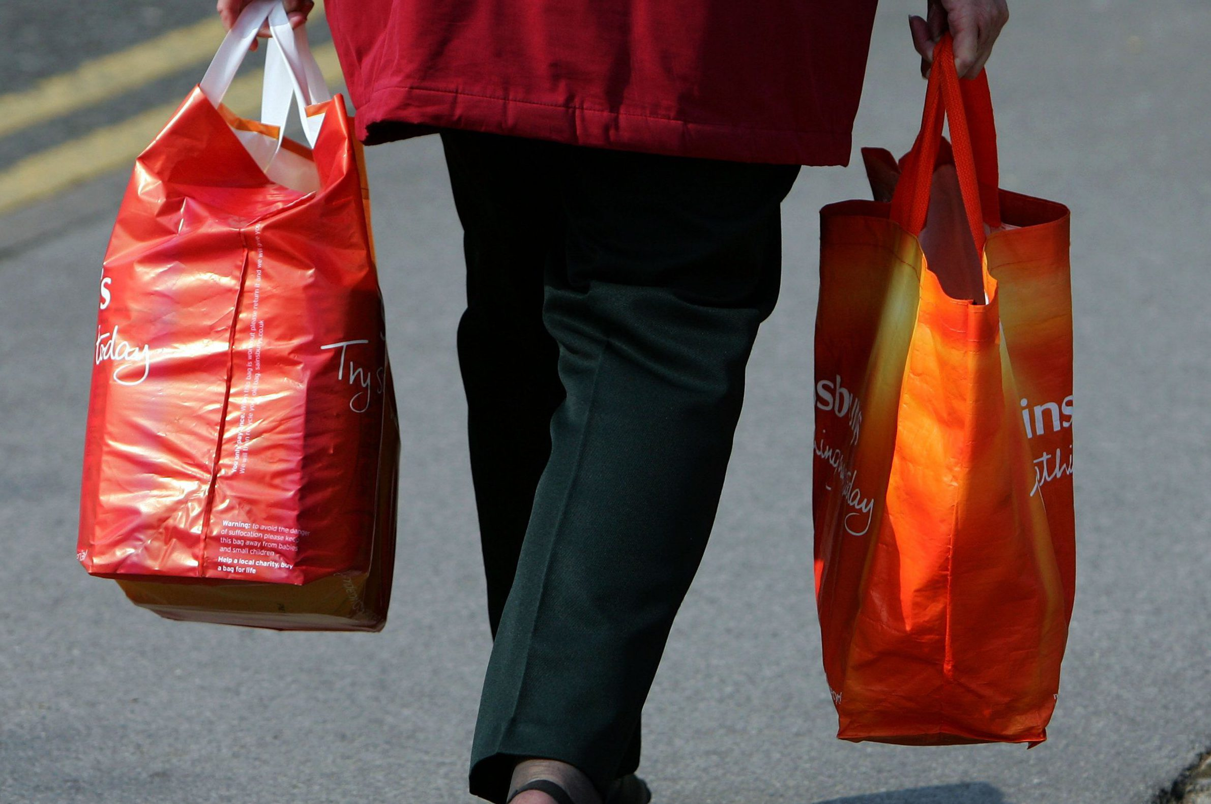 Supermarket Bags for Life could cause food poisoning