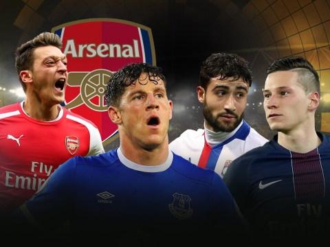 Julian Draxler, Henrikh Mkhitaryan: Five replacements Arsenal could sign if Mesut Ozil seals Man Utd transfer