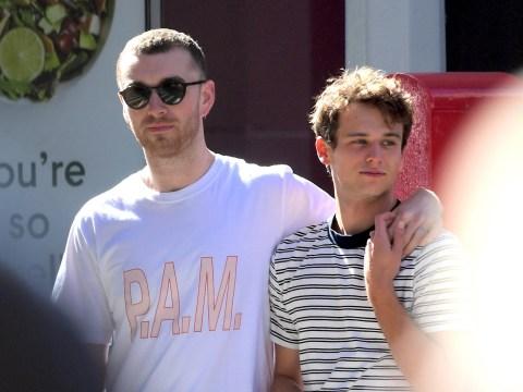 Sam Smith goes public with new boyfriend, 13 Reasons Why's Brandon Flynn