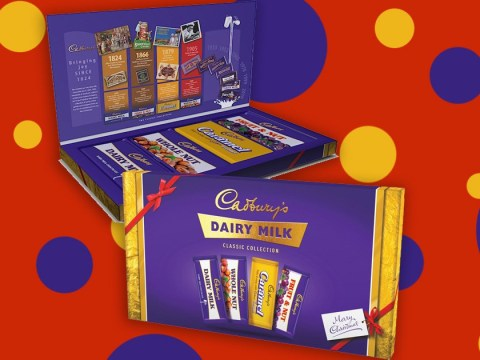 Cadbury is selling a retro selection box featuring all the Dairy Milk classics