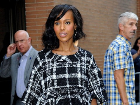 Scandal's Kerry Washington grew to accept her natural hair especially since becoming a mother