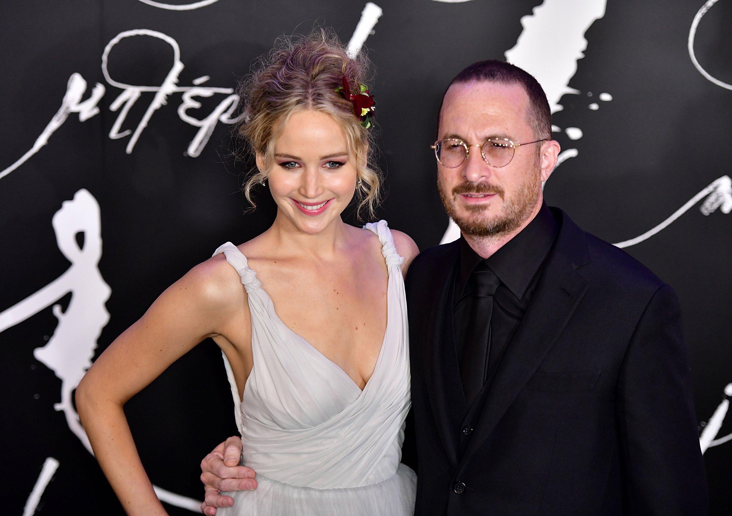 Jennifer Lawrence's ex Darren Aronofsky says she was 'emotionally overwhelmed' filming Mother!