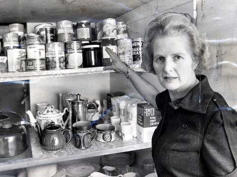 Margaret Thatcher's car crash culinary creations have finally been revealed