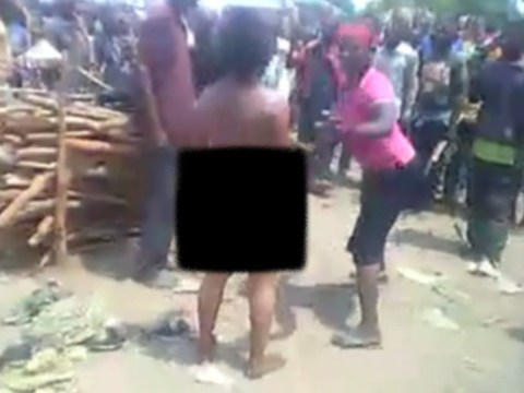 Crowd cheers as woman raped, beaten and decapitated for serving 'forbidden fish'