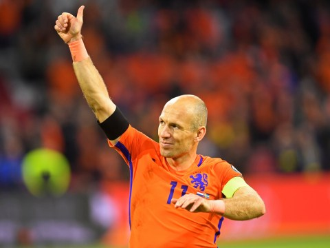 Arjen Robben retires from international football after Netherlands fail to qualify for World Cup