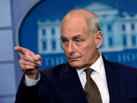 John Kelly says he's not quitting or getting fired, but confesses it's not his favorite job
