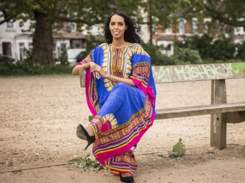 British Miss Universe model says people need to #StandwithSomalia if newspapers don't