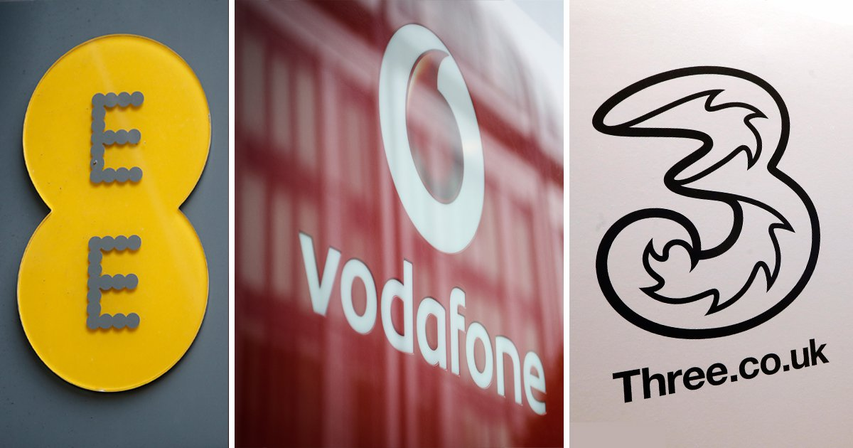 If you're a Vodafone, EE or Three customer you might be overpaying for your smartphone
