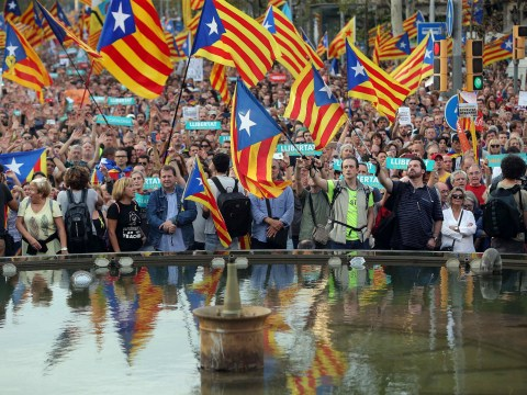 Catalonia has 'no option' but to declare independence, vice president says