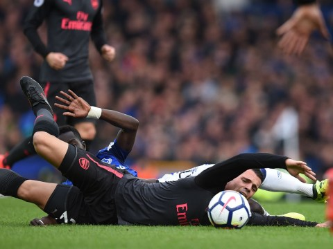 Thierry Henry disappointed with Arsenal midfielder Granit Xhaka's reaction to being fouled before Everton goal