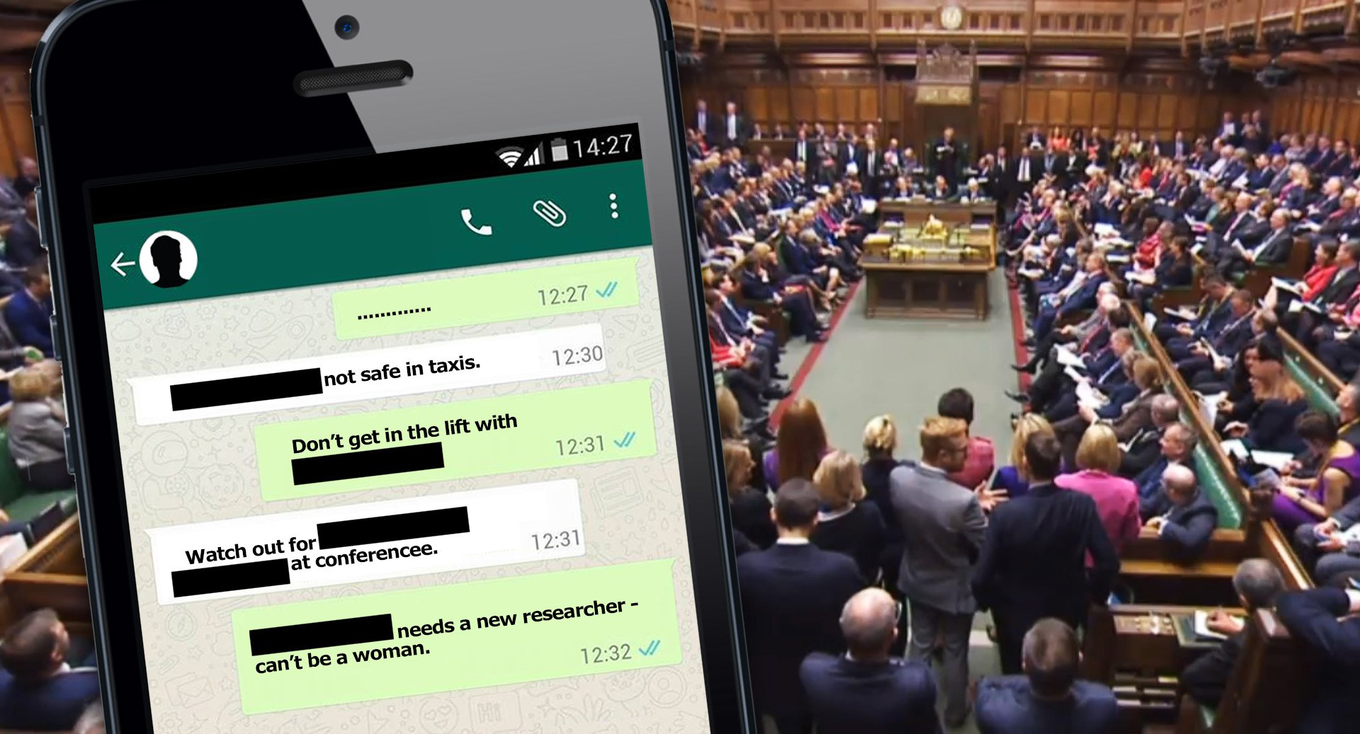 There's a WhatsApp group naming and shaming 'sex pest' MPs