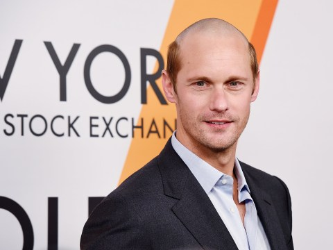 Just look at what Alexander Skarsgard has done to his hair for a new film role