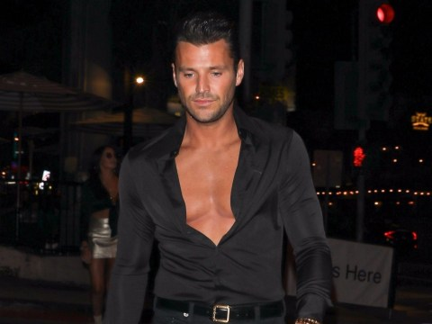 We're not in Essex anymore! Mark Wright's schmoozing with the Crawfords and the Clooneys these days