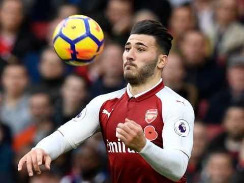 Arsene Wenger provides injury update on Sead Kolasinac ahead of Manchester City clash