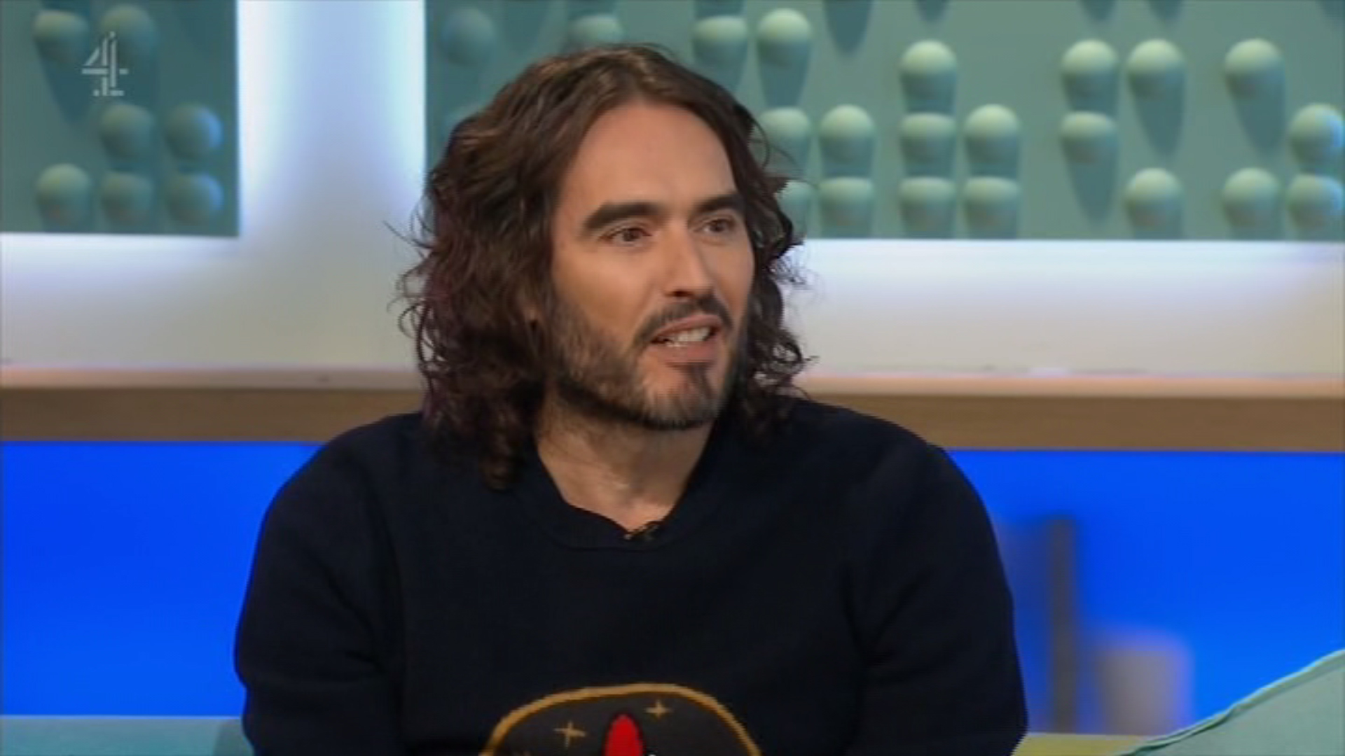 Russell Brand makes inappropriate 'sexual assault joke' on live TV