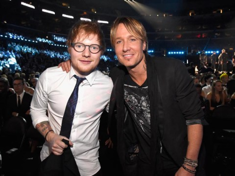 Ed Sheeran wades into Taylor Swift's territory by writing country song for Nicole Kidman's husband Keith Urban