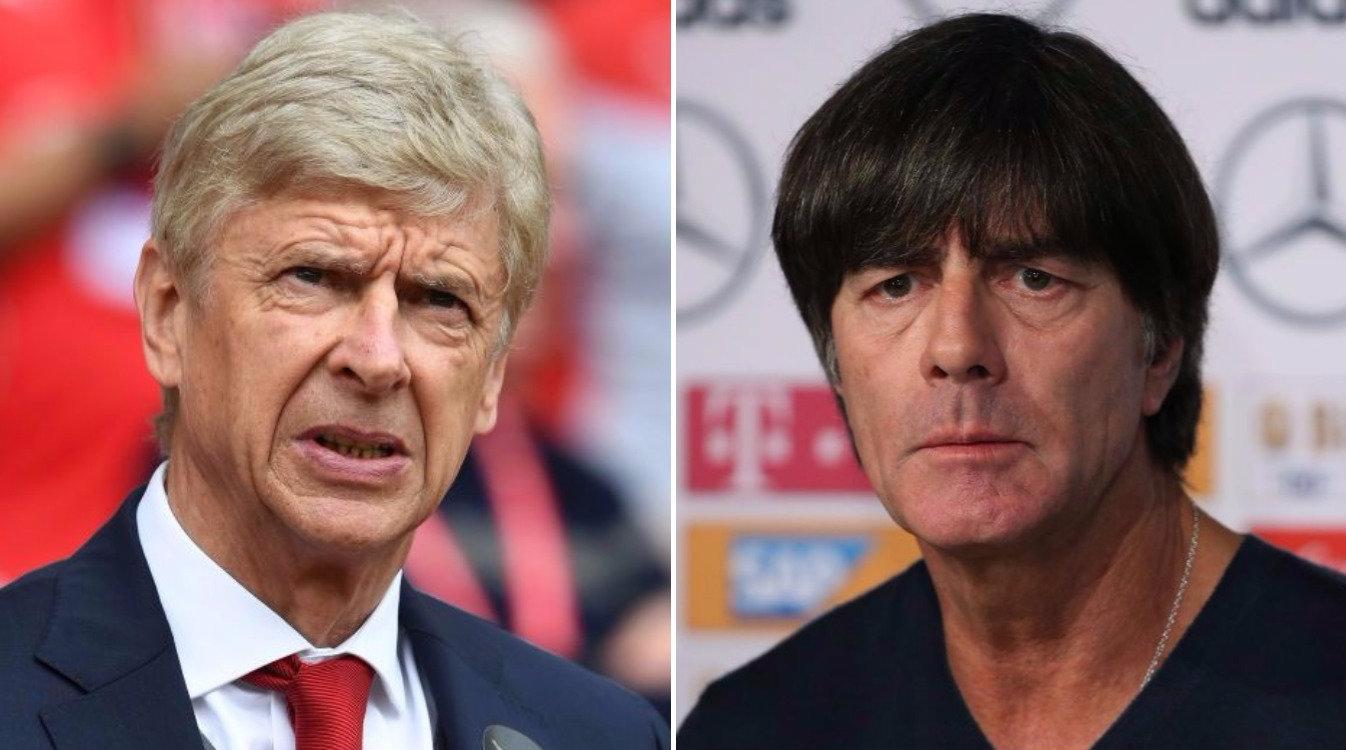 Arsene Wenger aims subtle swipe at Joachim Low after Shkodran Mustafi's injury