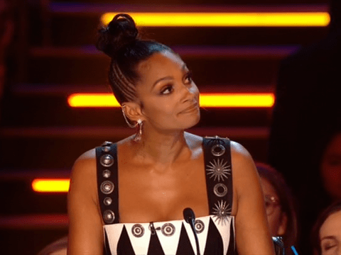 Alesha Dixon steps in to cover for Simon Cowell who misses second The X Factor live show